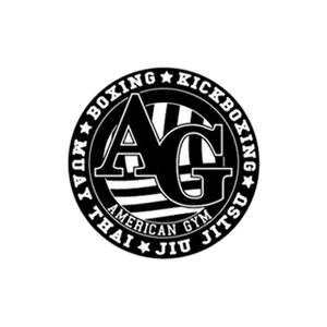 American Gym Logo round bw